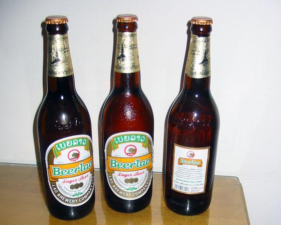Бирлао (BeerLao) - очень неплохое пиво. Рекомендую.